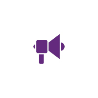 CVLC - Services Publicity Purple