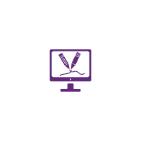 CVLC - Writing Services Purple