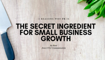 CVLC Blog Featured Image Reasons why Public Relations PR is the Secret Ingredient for Small Business growth 01 1